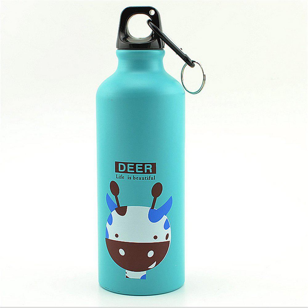 500ML Thermos Cup Coffee Tea Milk Travel Mug Thermol Bottle Gifts Thermocup - BLUE