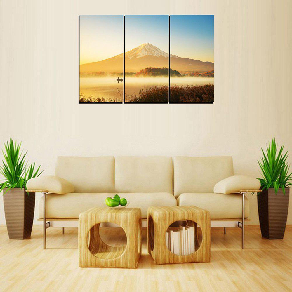 2018 MailingArt FIV256 3 Panels Landscape Wall Art Painting Home ...