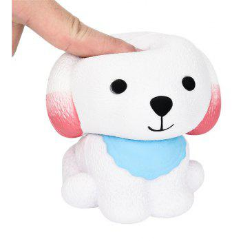 Jumbo Squishy Cute Puppy Scented Cream Slow Rising Squeeze Decompression Toys - multicolor