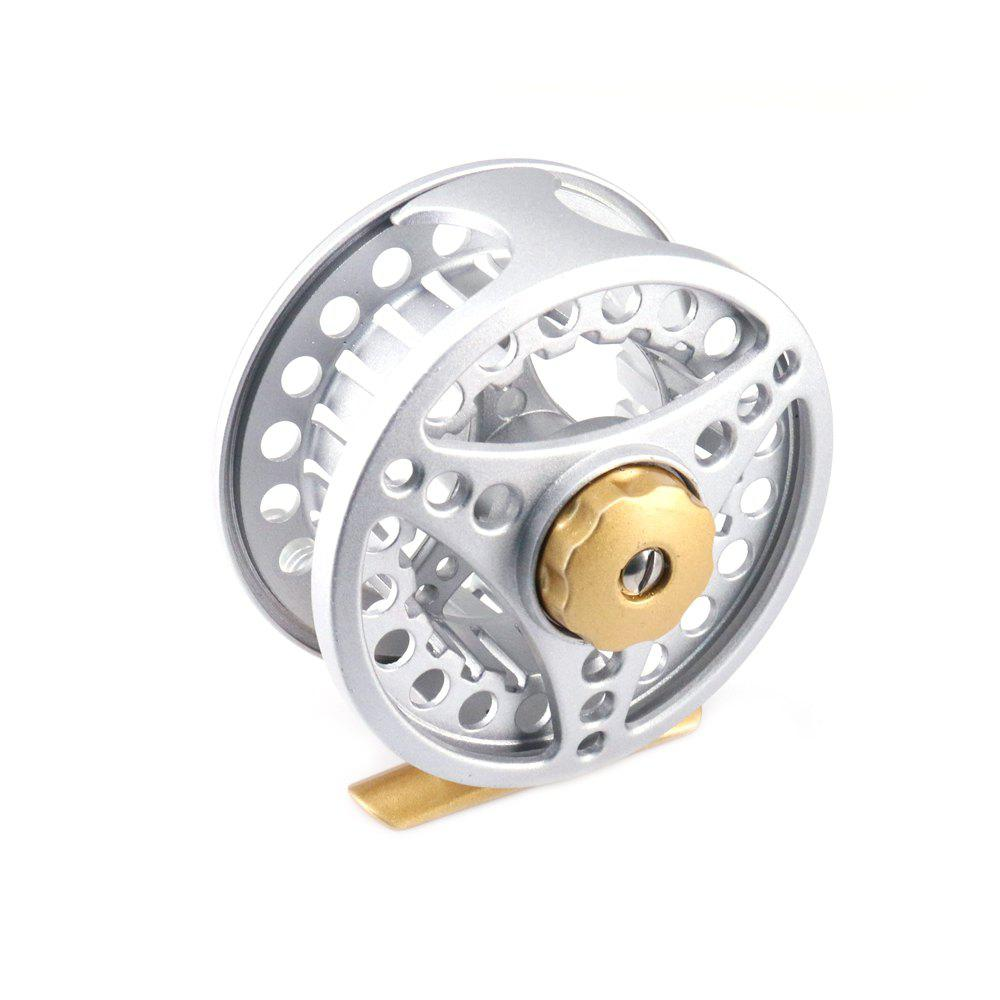 DEUKIO Nouvelle arrivée Fly Reel All Metal Material Taille 5/6 7/8 - SILVER DF 5/6