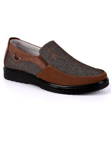 2018 Chaussures Loafer en Tissu Taille Grande Respirantes Anti-Dérapantes  pour Homme Brun 42 In Chaussures Décontractées Online Store. a0ed1beadba6