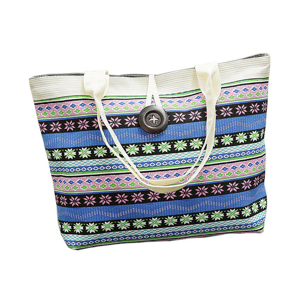 2018 New Trend Rrinted Canvas Shoulder Bag for Women