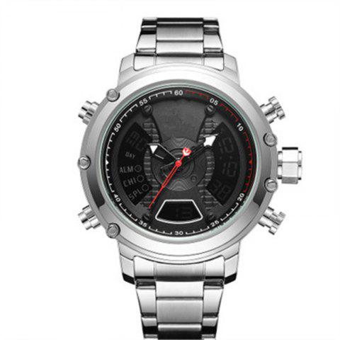 Multifunction Waterproof Watch for Men - SILVER