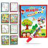 Children Magic Water Painting Writing Board Graffiti Painting Baby Kindergarten Scene Painted Toys Book Copying - COLORMIX TYPED