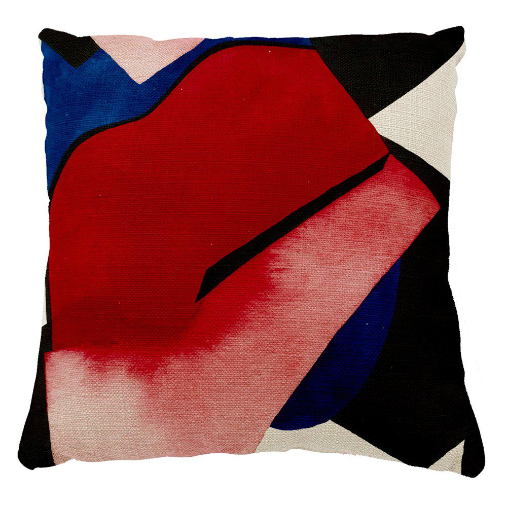 Creative Hand Painted Color System Design Home Adornment Sofa Bedroom Cushion Cover - COLORMIX 16INCH X16INCH