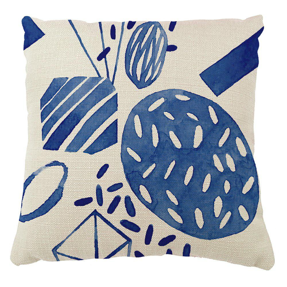 Stylish Geometric Patterns Creative Home Decorations Pillow Case - COLORMIX 16INCH X16INCH