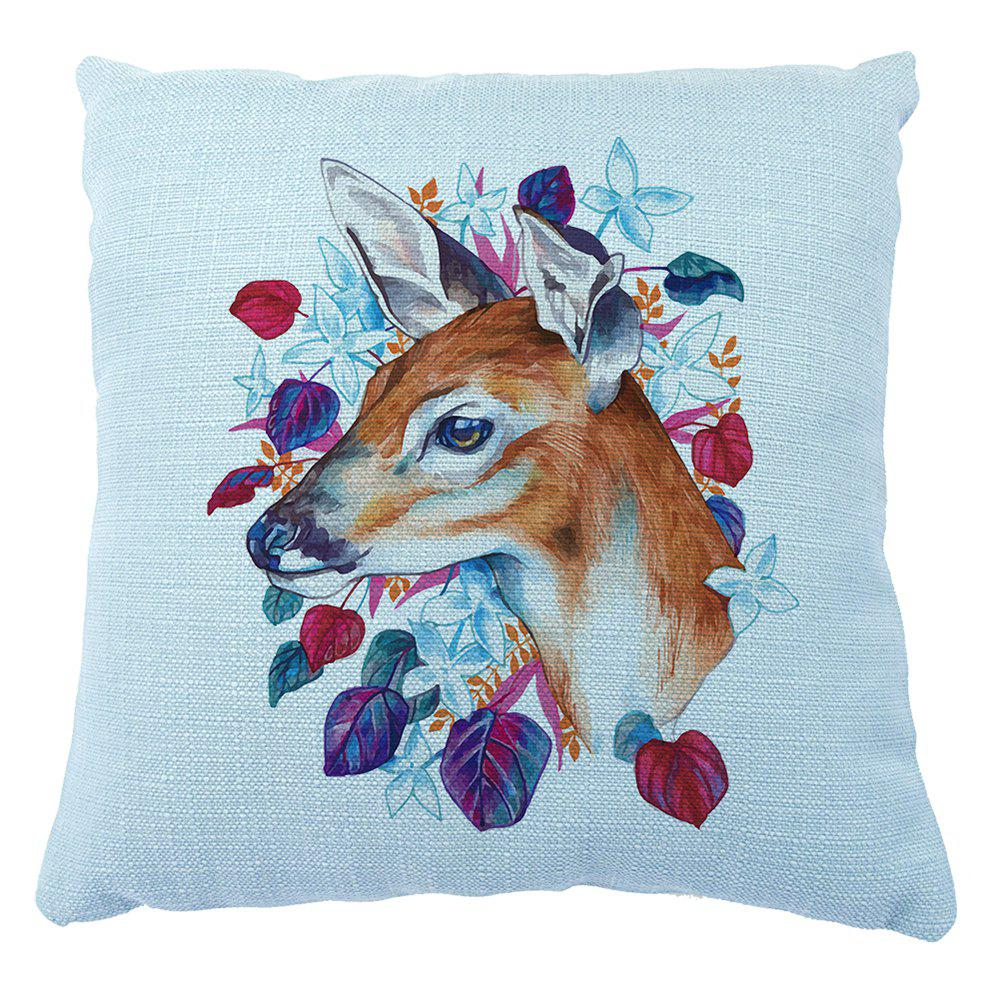 Secret Garden Series Animal Hand Painted Household Small Fresh Decoration Cushion Cover - COLORMIX 16INCH X16INCH
