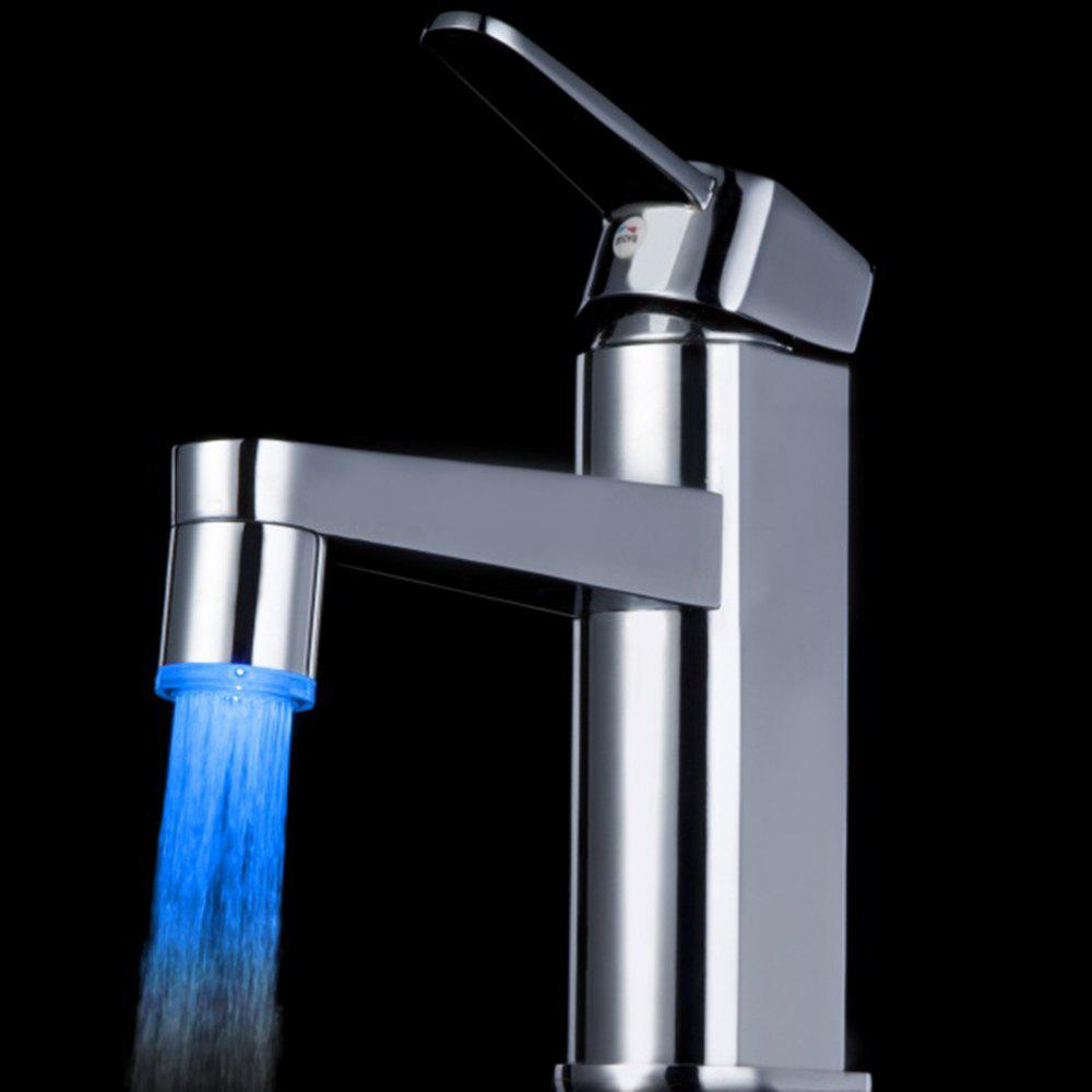 BRELONG LED Monochromatic Light Faucet Lamp - BLUE