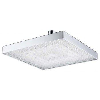 BRELONG 8 pouces LED Monochrome Shower Top Bec Rouge Vert Bleu - Bleu