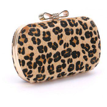 Women Bags Suede Other Leather Type Evening Bag Fur Wedding Event Party Formal - CAMEL