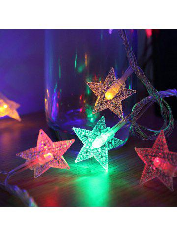 2018 outdoor christmas lights online store best outdoor christmas 1pc garland christmas lights stars outdoor indoor fairy lights battery powered for tree home decoration mozeypictures Gallery