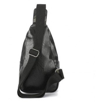New Unique Crossbody Camouflage Waist Pack Single Shoulder Bag Fashion Outdoor Unbalance Backpack - CAMOUFLAGE