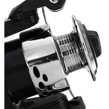 Spinning Fishing Reels Electroplate Weel Small Vessels - BLACK