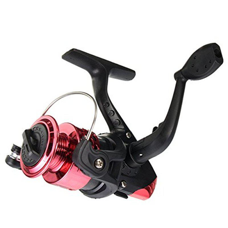 Spinning Fishing Reels Electroplate Weel Small Vessels - RED