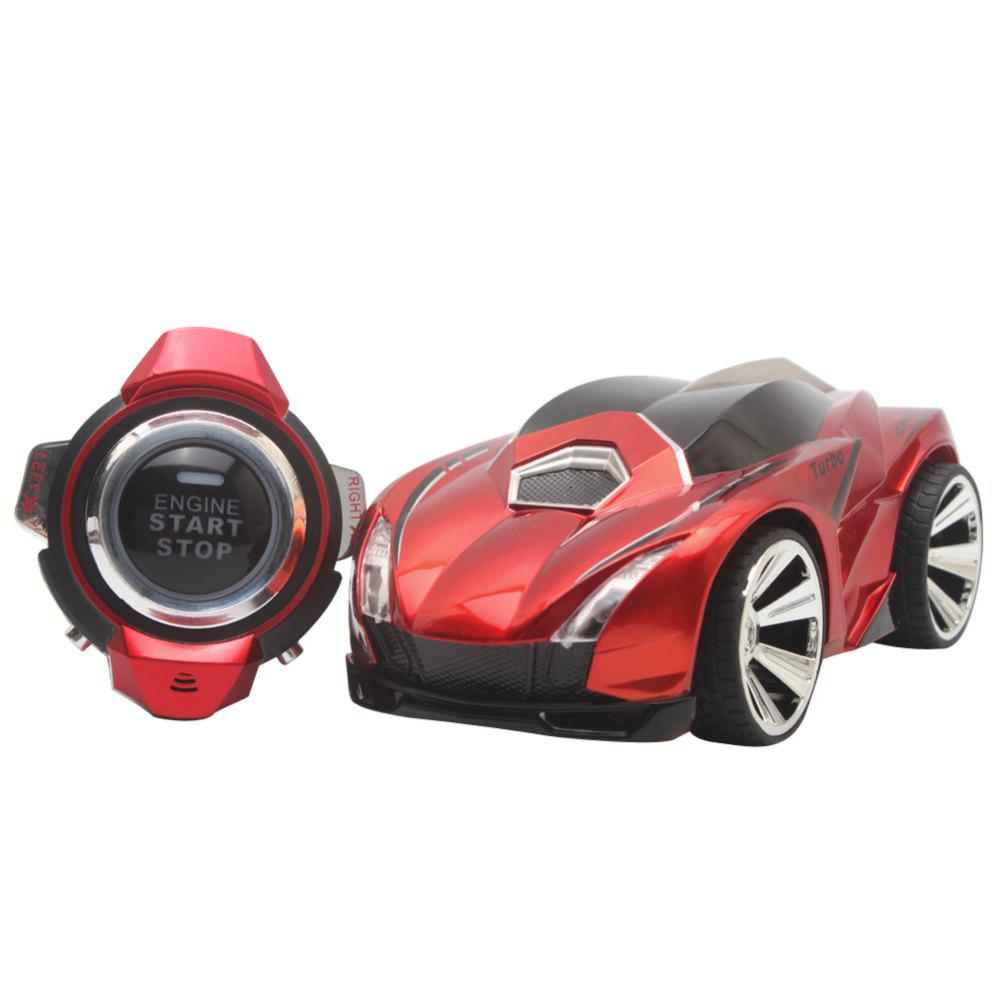 Voice Control RC Drift Car with Smart Watch Remote Controller Electric Toys - RED