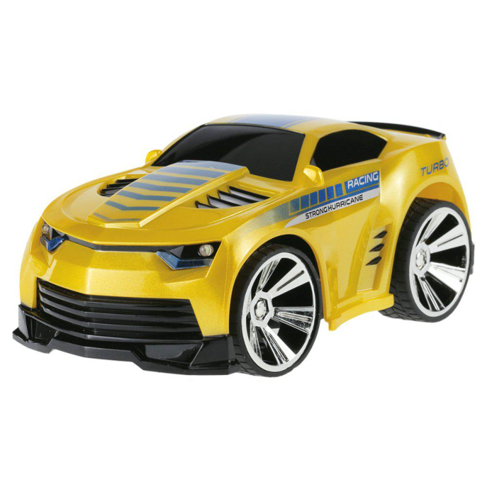 Voice Control RC Drift Car with Smart Watch Remote Controller Electric Toys - YELLOW