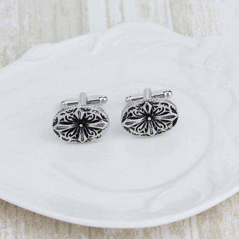 Europe and The United States Selling Jewelry French Cuff Links Cufflinks - SILVER