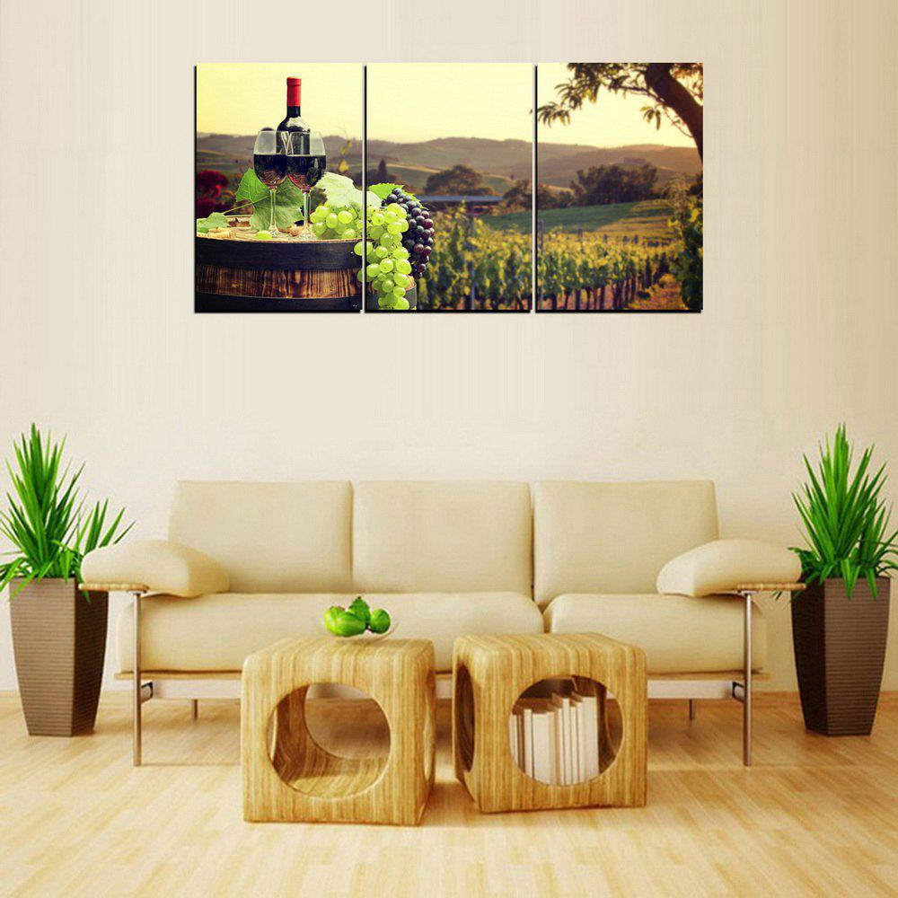 2018 MailingArt FIV399 3 Panels Landscape Wall Art Painting Home ...