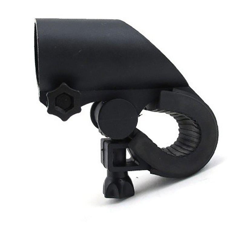 New Outdoor Bicycle 360 Degree Rotary Bike Clip Holder Bracket - BLACK