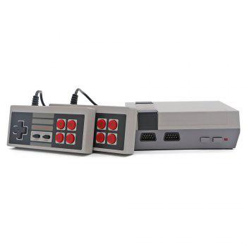 Classic Mini Game Consoles Built-in 620 TV Video Game with Dual Controllers - GRAY