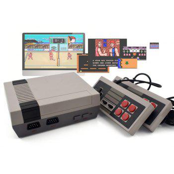Classic Mini Game Consoles Built-in 620 TV Video Game with Dual Controllers - LIGHT GRAY