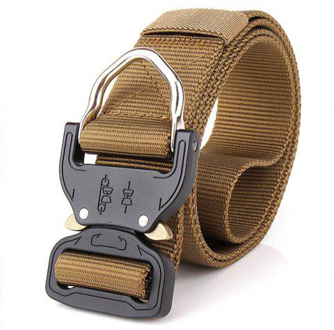 Outdoor Camping Equipment Carabiner Hunting Equipment Lock Belt - BROWN