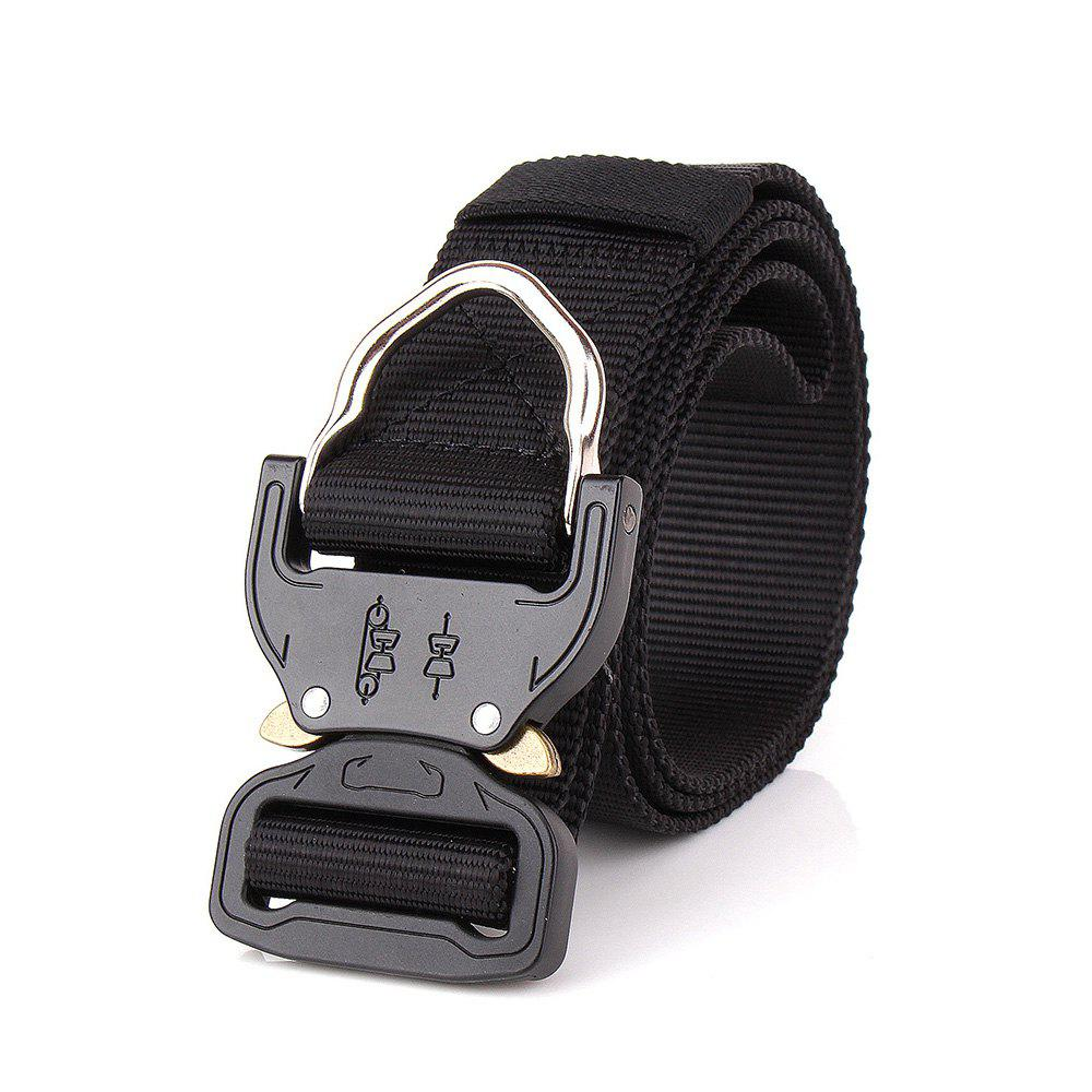 Outdoor Camping Equipment Carabiner Hunting Equipment Lock Belt - BLACK
