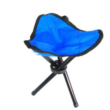 Triangle Folding Chair for Outdoor Camping / Picnic/ Hiking/ Fishing - BLUE