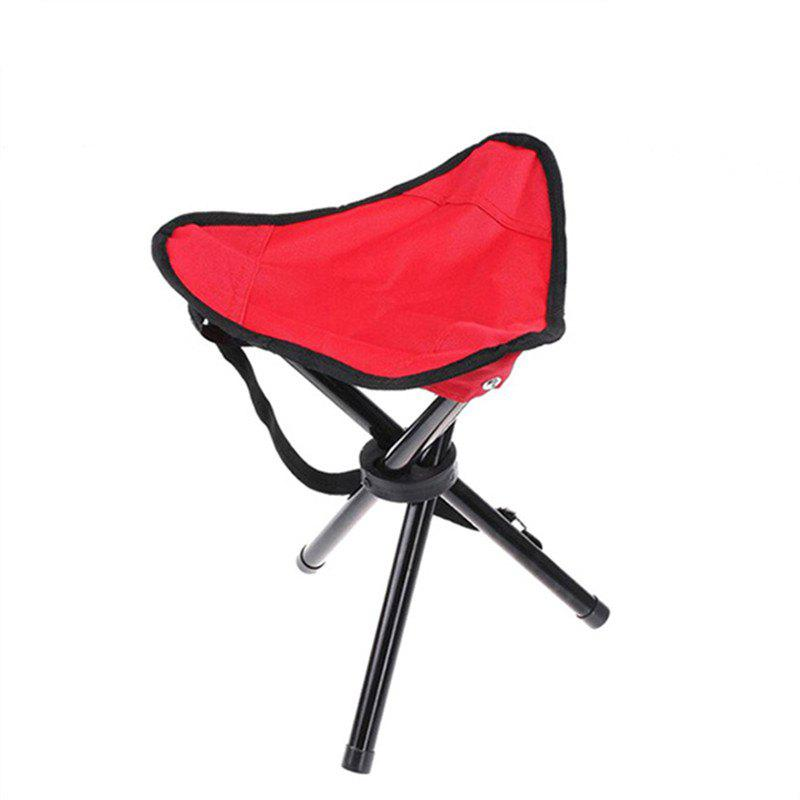 Triangle Folding Chair for Outdoor Camping / Picnic/ Hiking/ Fishing - RED