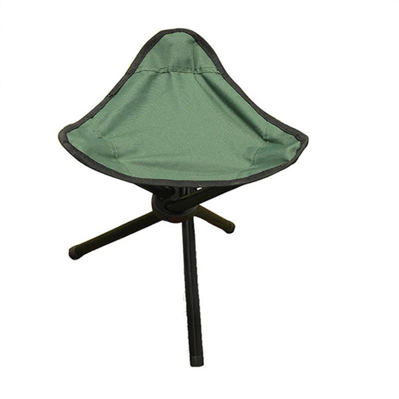 Triangle Folding Chair for Outdoor Camping / Picnic/ Hiking/ Fishing - GREEN