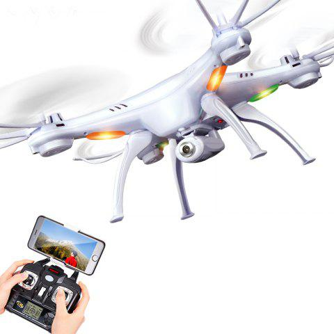 Mode en temps réel sans transmission de l'appareil-photo de Quadcopter de drone SYMA X5SW - Blanc 1PC