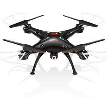 SYMA X5SW RC Drone WiFi Camera Quadcopter Real-time Transmit Headless Mode - BLACK 1PC