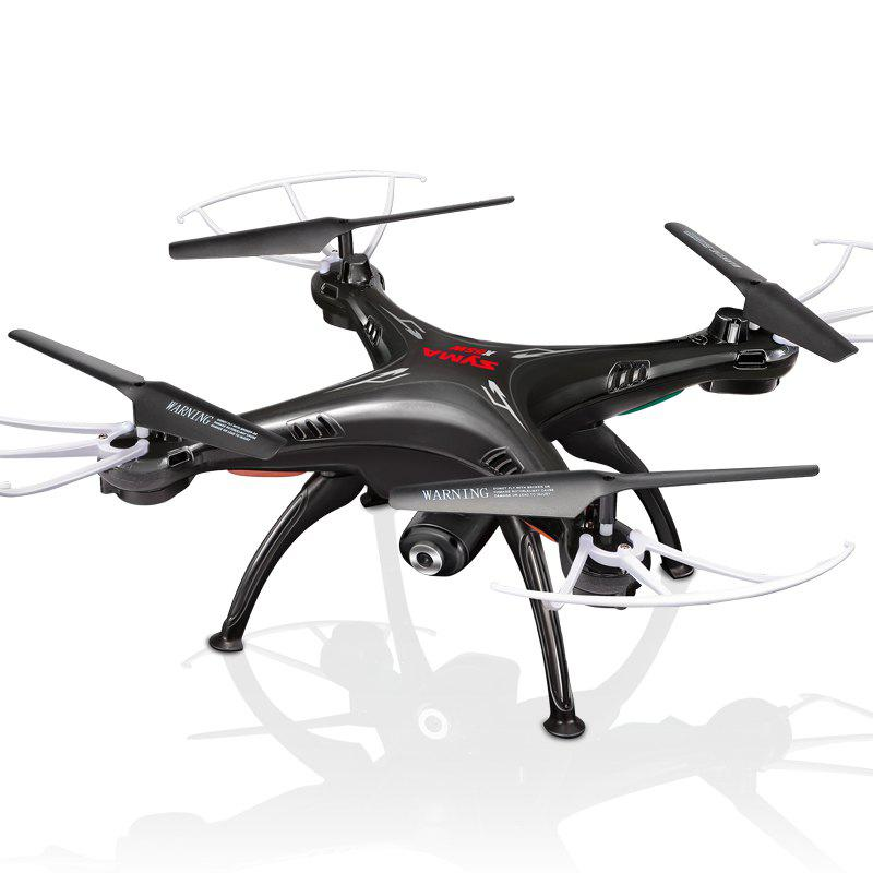 Mode en temps réel sans transmission de l'appareil-photo de Quadcopter de drone SYMA X5SW - Noir 1PC
