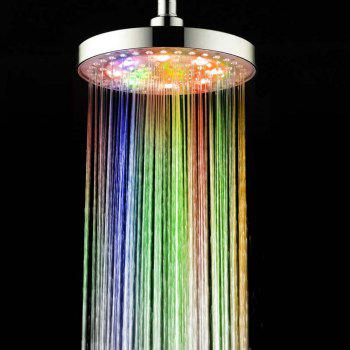 BRELONG 8 - inch LED Color Shower Round Spray - COLORFUL