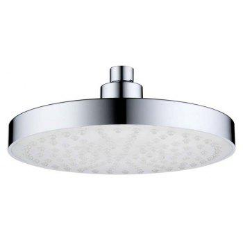 BRELONG 8 inch LED Single Color Shower Round Red Green Blue - RED