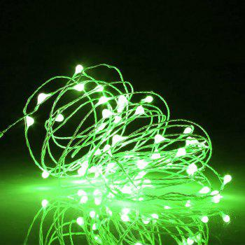 BRELONG 10LED Copper Wire String Lights For Christmas Indoor Decorations 8pcs - GREEN