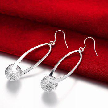 Graceful Drop Earrings Charm Jewelry Gift For Women - SILVER