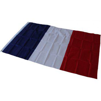 Hot French Flag Hanging Indoor and Outdoor 90X150CM Home Decoration - COLORMIX