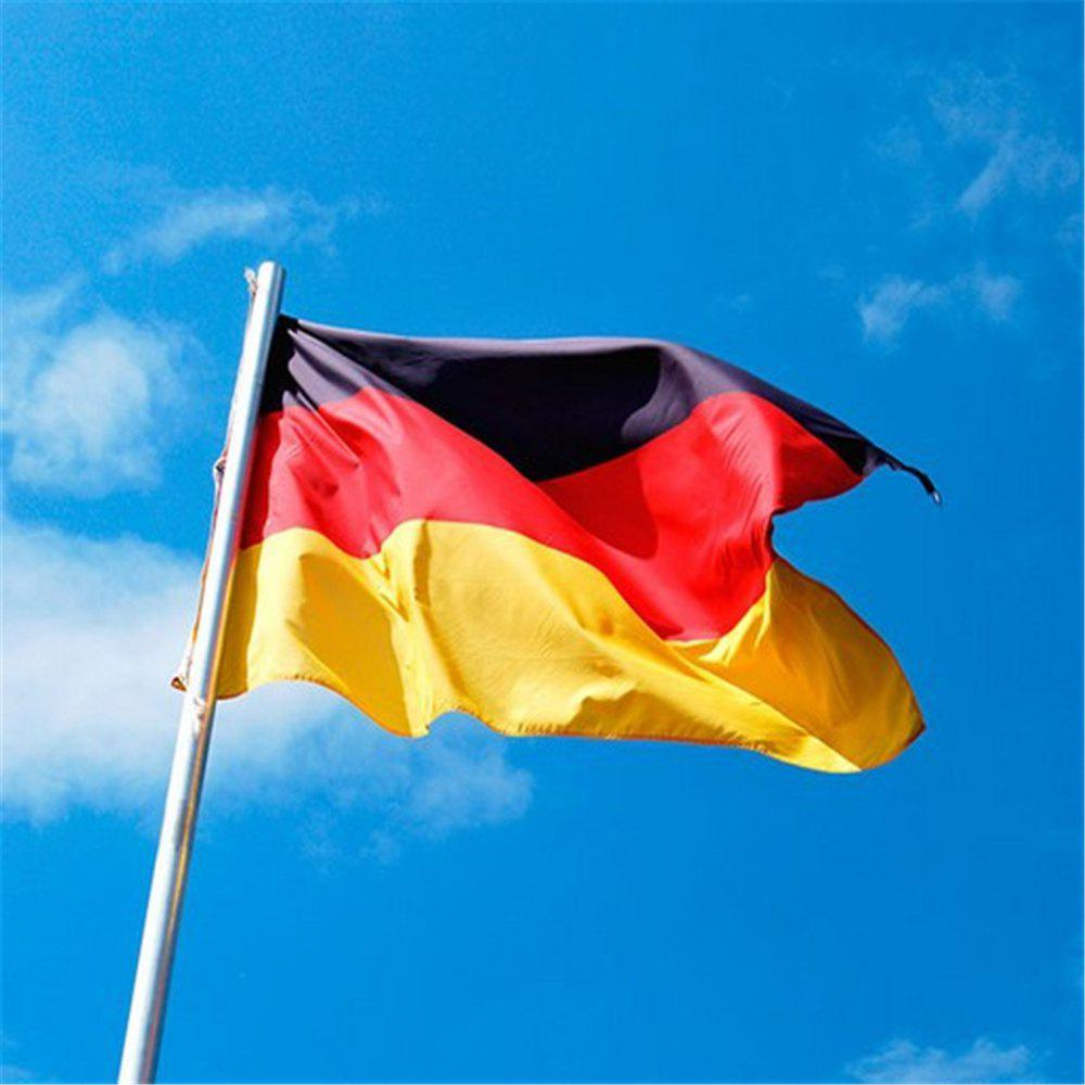 Hot German Flag Festival Super Poly Indoor Outdoor 90X150CM Home Decoration - COLORMIX