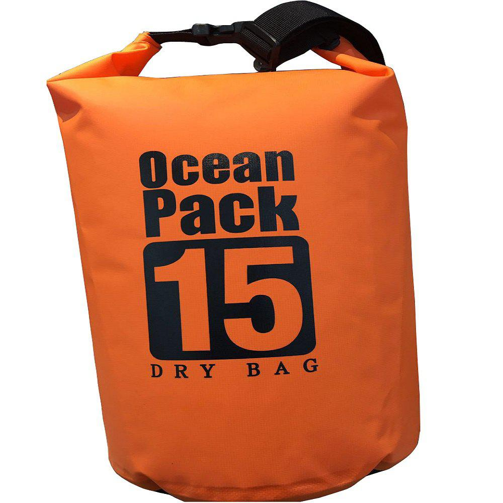 Floating Waterproof Bag  for Outdoor Water Sports - MANDARIN