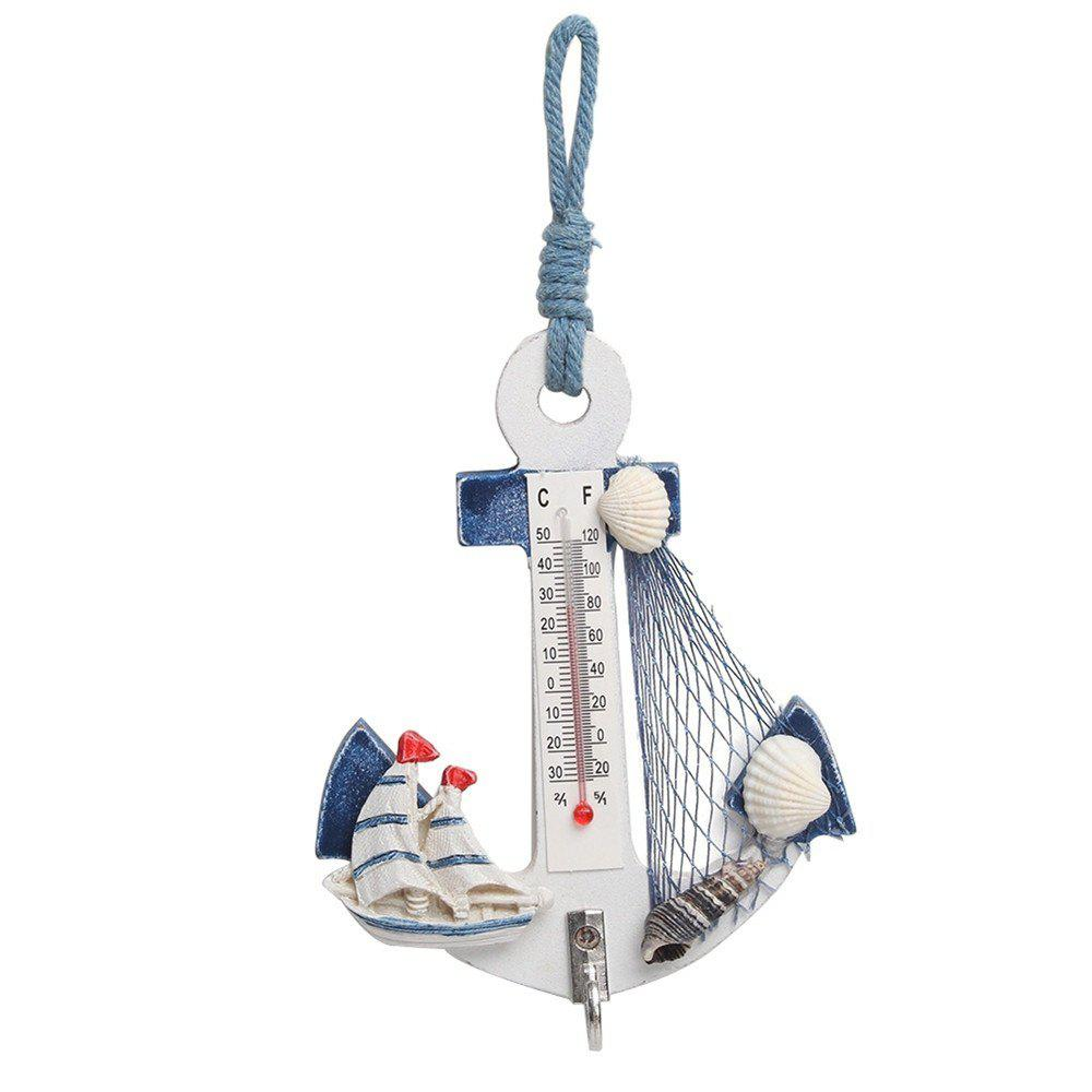 Creative Thermometer Hooks - WHITE