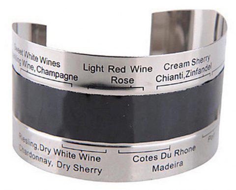 Stainless Steel Wine Thermometer - SILVER