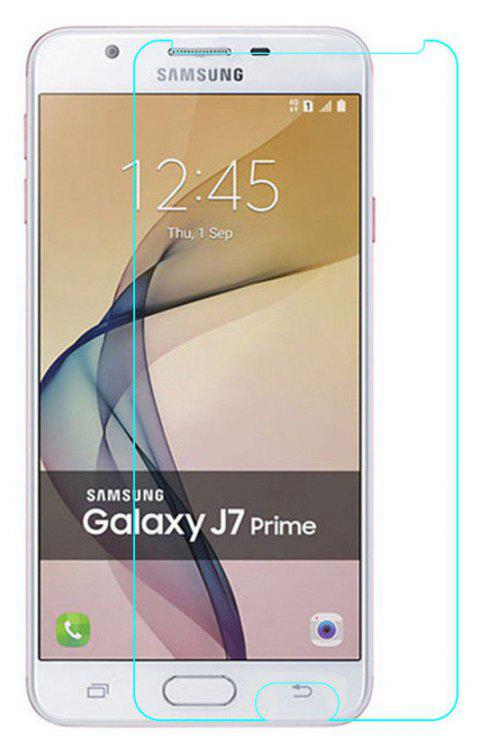 2PCS Screen Protector for Samsung Galaxy J7 Prime /On7 HD Full Coverage High Clear Premium Tempered Glass - TRANSPARENT