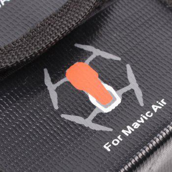 LiPo Safe Bag Battery Protective Explosion-proof Storage Bag for DJI MAVIC AIR for Two Battery - BLACK