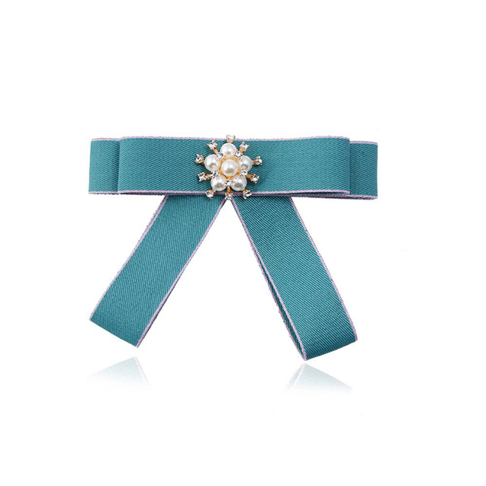 Simple Fashion Tie Hair Brooch - MINT