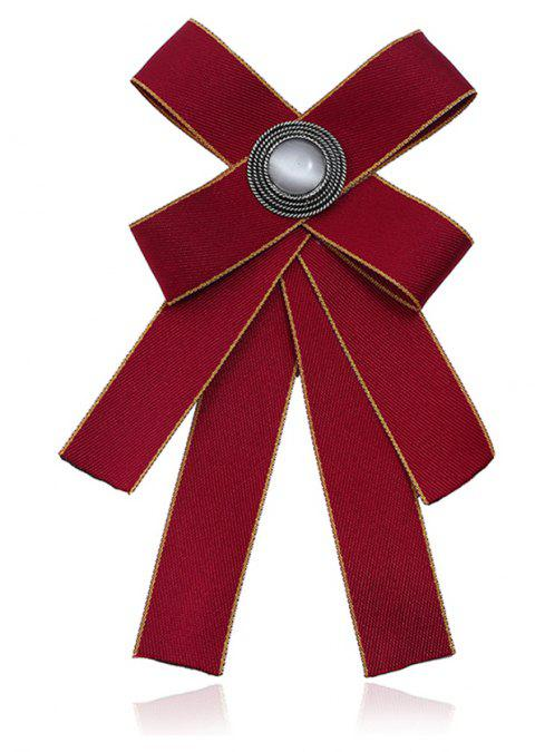 Delicate Fashion Tide Brooch - RED