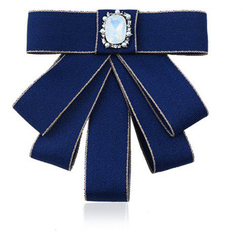 College Wind Bow Tie Broche - Royal