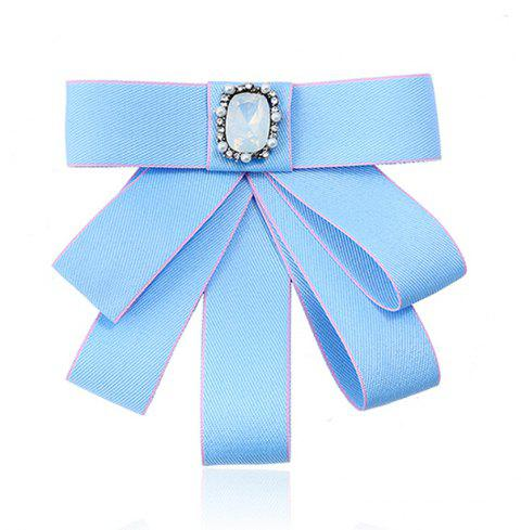 College Wind Bow Tie Broche - Azur