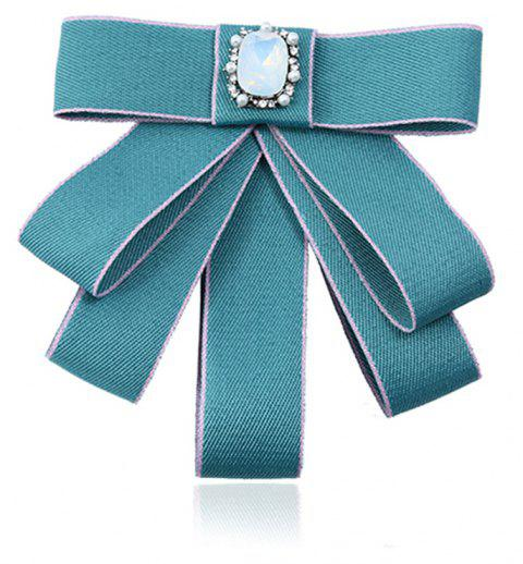 College Wind Bow Tie Brooch - MINT