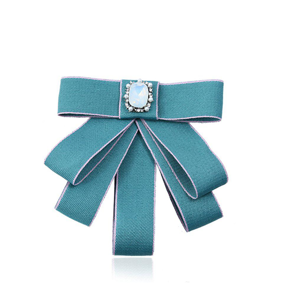 College Wind Bow Tie Broche - Menthe
